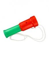 Fan toeter in de kleur rood groen