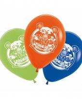 Feest ballonnen circus thema 5 stuks