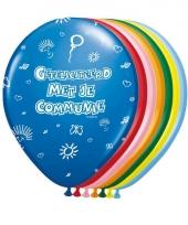 Feest ballonnen communie