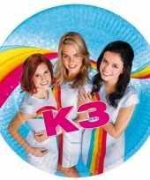 Feest bordjes verjaardag k3