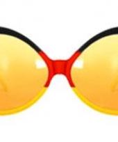 Feest bril in de kleuren van belgie