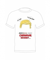Feest donald trump shirt america first
