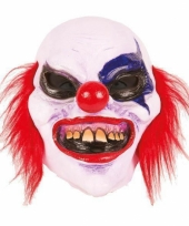 Feest masker horror scary clown boldy