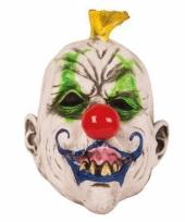 Feest masker horror scary clown punk
