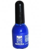 Feest nagellak blauw