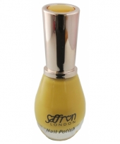 Feest nagellak geel
