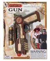 Feest steampunk revolver pistool 25 cm