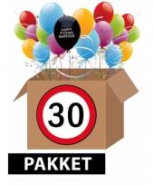 Feestpakket 30 jaar fucking birthday