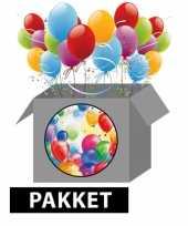 Feestpakket ballonnen versiering