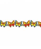 Feestslinger vlinders gekleurd