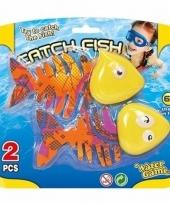 Fel gekleurde vissen om op te duiken