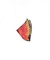 Feniks vleugels voor kids met vlammen