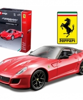 Ferrari 599 gto rood schaalmodel 1 32