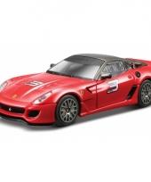 Ferrari 599 xx rood schaalmodel 1 43