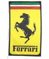 Ferrari merchandise vlaggen 150 x 90 cm 10091379