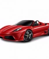 Ferrari scuderia spider 16m schaalmodel 1 32