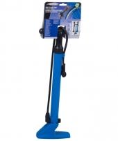 Fietspomp blauw abs kunststof