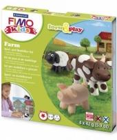 Fimo klei pakket boerderij