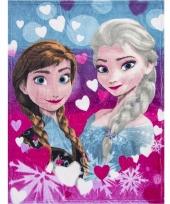 Fleece kleedje frozen voor meisjes 90 x 120 cm 10094375