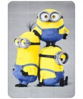 Fleece kleedje minions voor kids