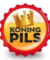 Flesopener met tekst koning pils