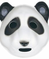 Foam masker pandabeer voor kids