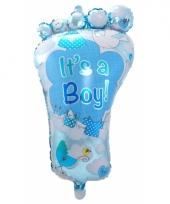 Folie ballon geboorte jongen