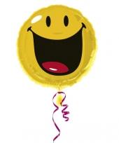 Folie ballon smiley