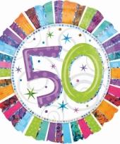 Folie ballonnen 50 jaar