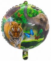 Folie ballonnen safari dieren 45 cm