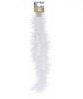 Folie slinger wit fijn 180 cm