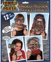 Foto maken setje zombie thema