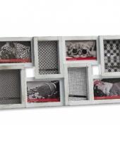 Fotolijstjes frame voor 8 foto s 58 x 30 cm