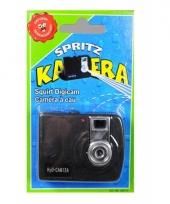Fototoestel met waterspuit