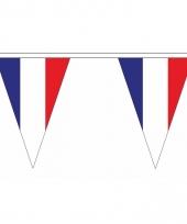 Frankrijk versiering vlaggenlijn 20 m