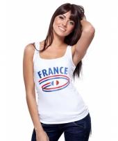 Franse vlaggen tanktop voor dames