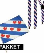 Friesland verkleedaccessoires setje