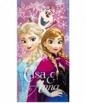 Frozen elsa en anna badlaken 70 x 140 cm
