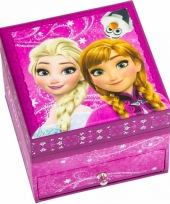 Frozen juwelen opbergdoosje roze