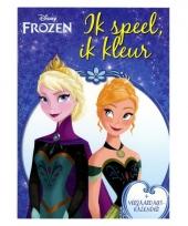 Frozen kleurboek met spelletjes en kalender