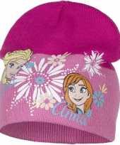 Frozen muts elsa en anna roze voor meisjes