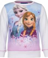 Frozen sweater wit voor meisjes