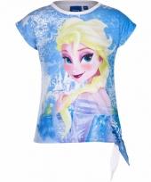 Frozen t-shirt wit voor meisjes