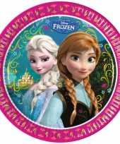 Frozen thema feestje borden 16 stuks