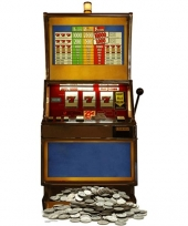 Fruit machine decoratie bord