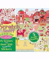 Fruit reuk stickers 220 x