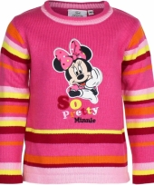 Fuchsia minnie mouse sweater
