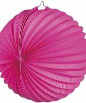 Fuchsia roze party lampionnen