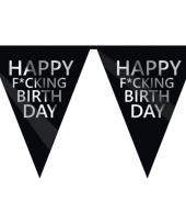 Fucking birthday feestvlaggenlijn