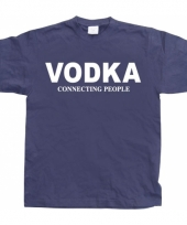 Funny heren shirt vodka